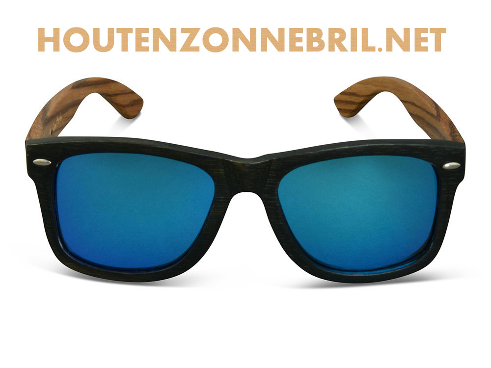Houten Zonnebril van bamboe bestellen