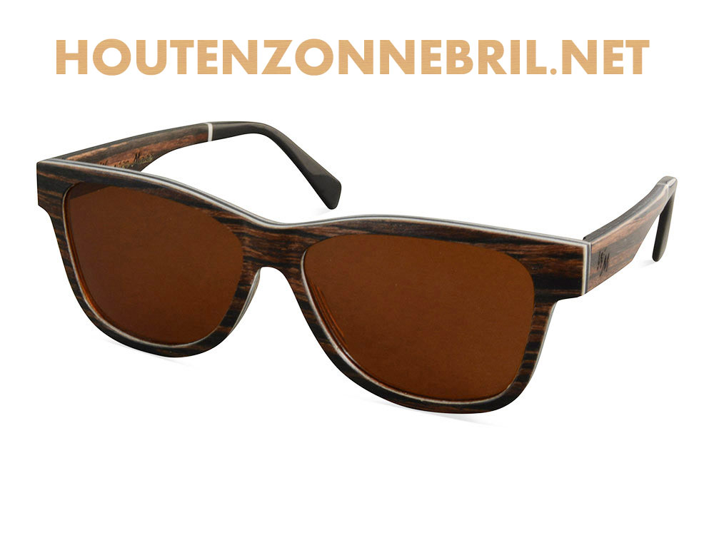 Bellero zonnebril van hout